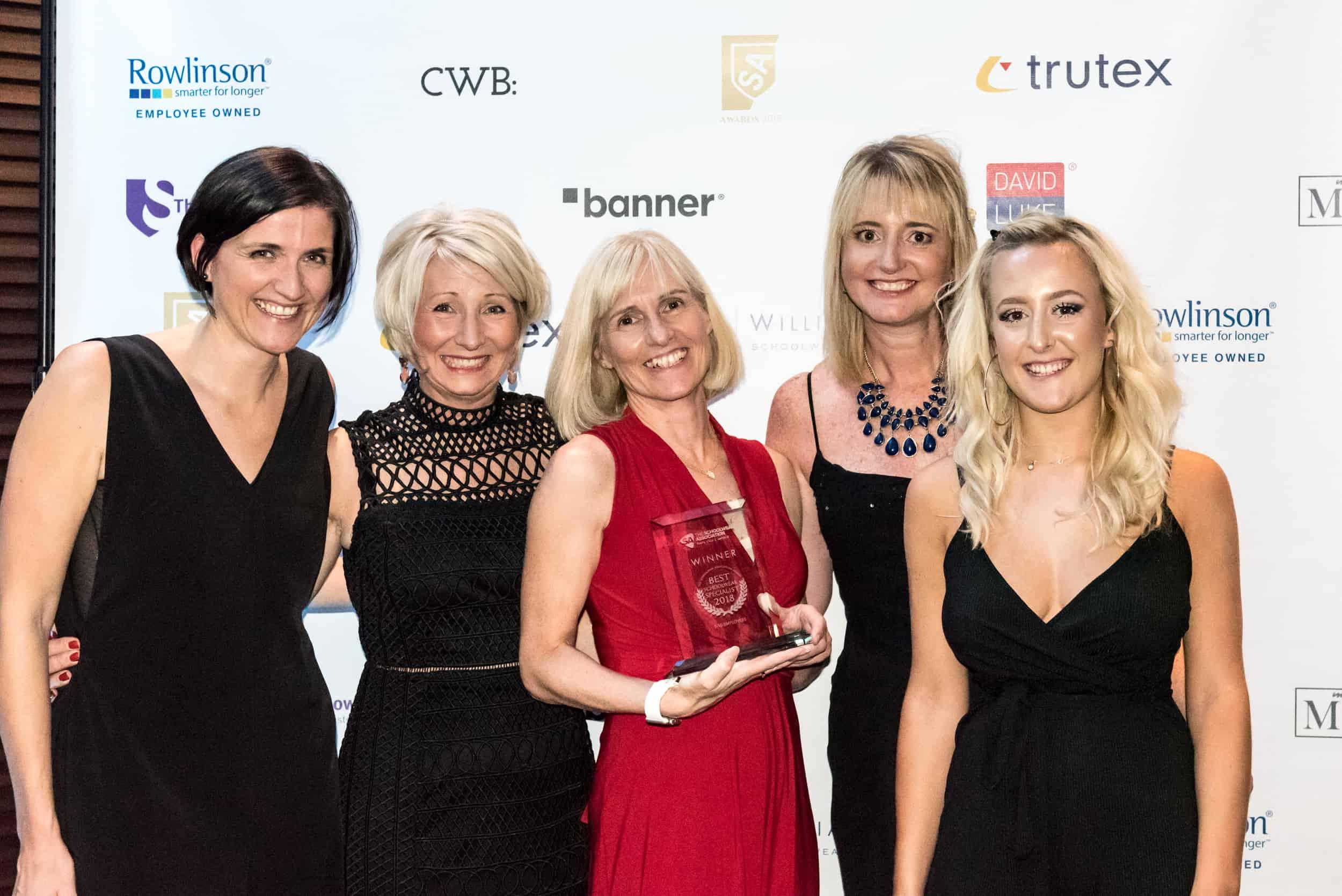 Schoolwear Award winners 2018